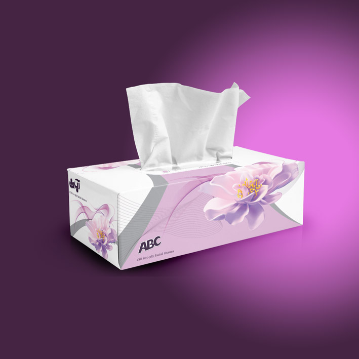 ABC-golrang-tissue-box