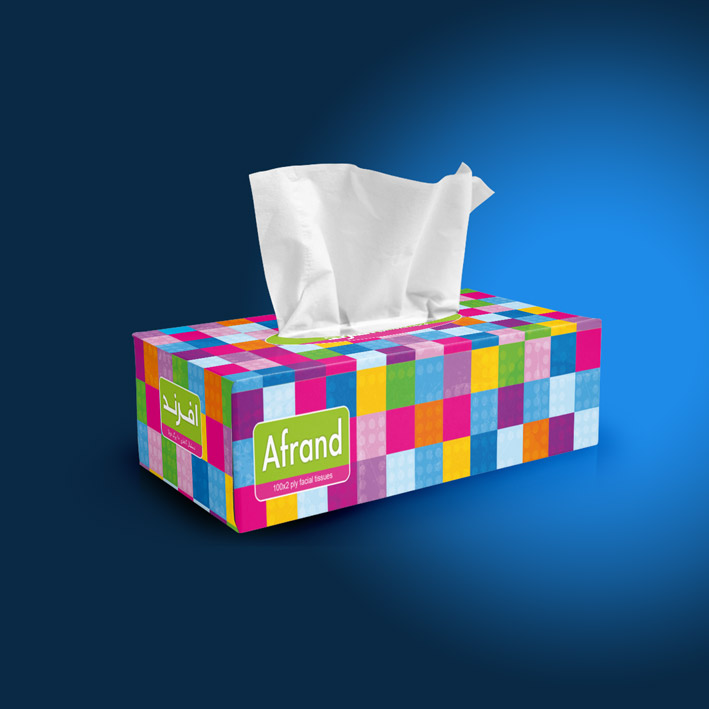 Afrand-roubic-tissue-box