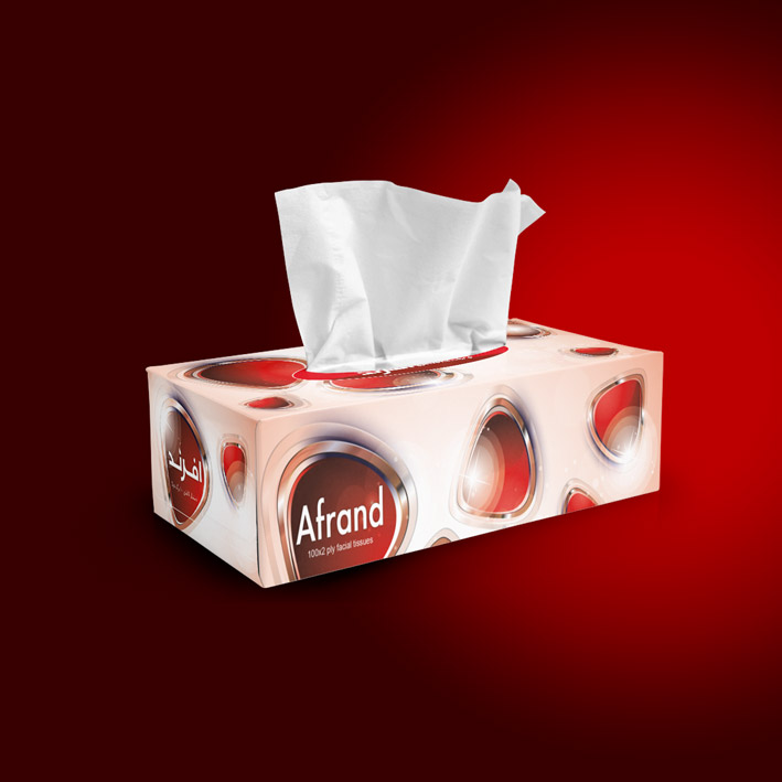 Afrand-yaghout-tissue-box