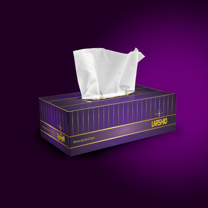 Larshid-violet-tissue-box