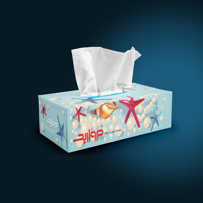 Morvarid-darya-tissue-box