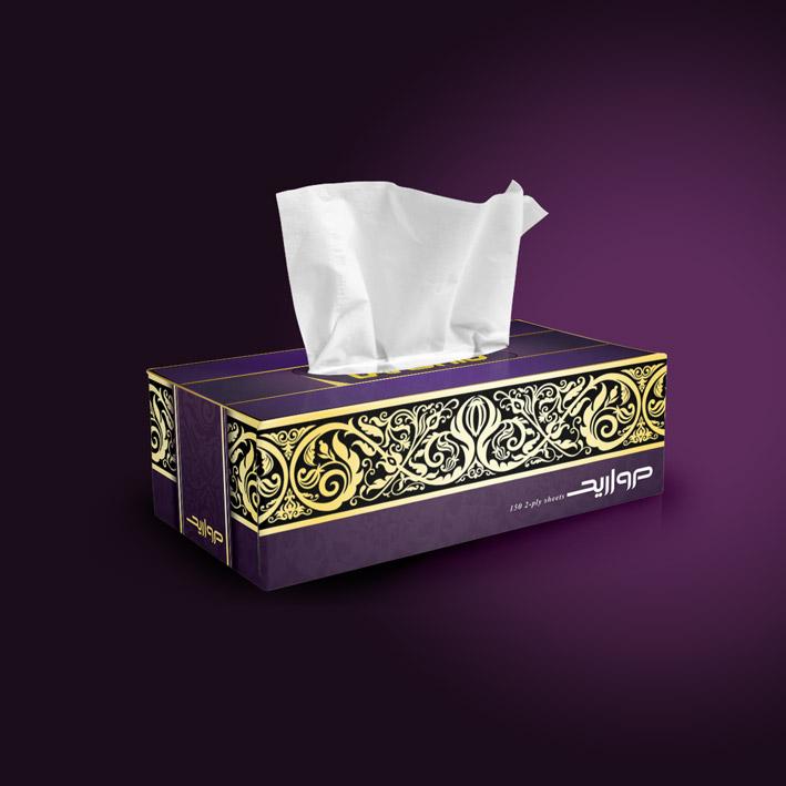 Morvarid-majlesi-tissue-box
